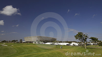 Cape Town stadium for 2010 Soccer World cup Editorial Image