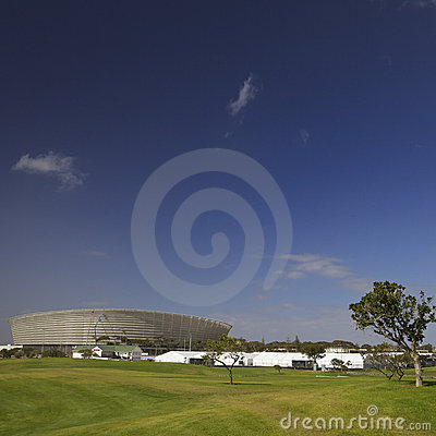 Cape Town stadium for 2010 Soccer World cup Editorial Photo