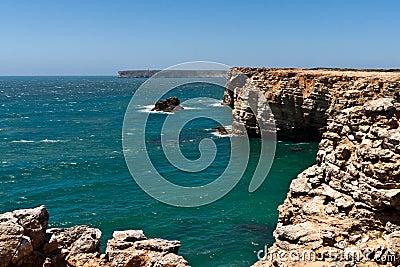 Cape Vincente in Portugal