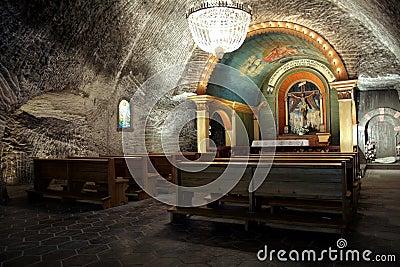 Capela subterrânea