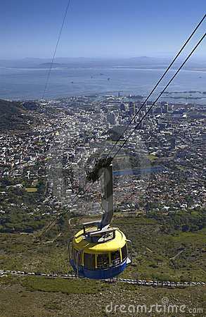 Capetown - Table Mountain - South Africa Editorial Photo