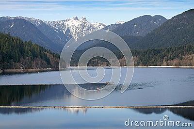 Capilano Lake, North Vancouver