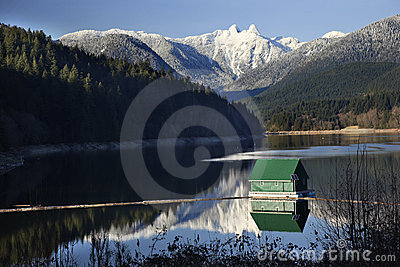 Capilano Snowy Two Lions Mountains Vancouver