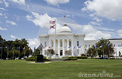 Capital building in Alabama.