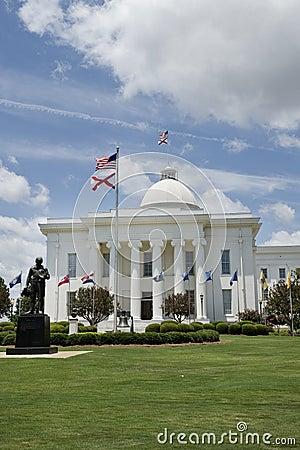 Capital building in Alabama.