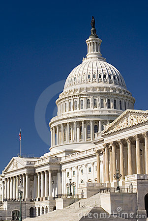 Free Capital Building, DC Royalty Free Stock Photos - 5498858