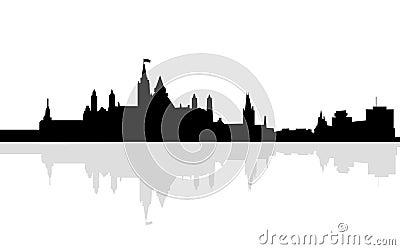 Capital of Canada Skyline Ottawa