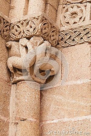 Capital of a column