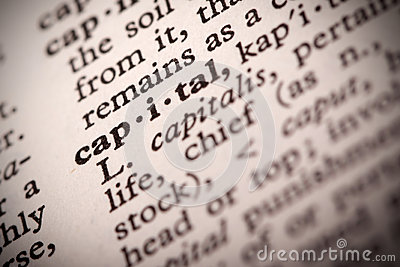 Capital Definition