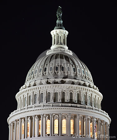 Capital Dome at Night