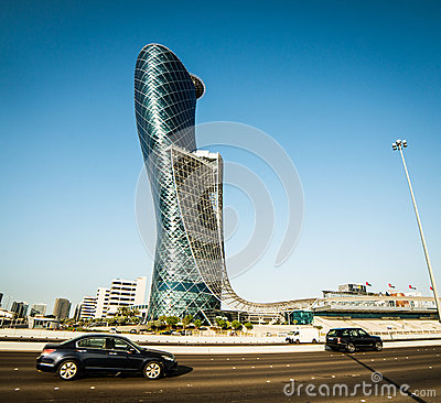 Capital Gate Editorial Image