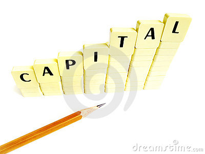 Capital increase concept