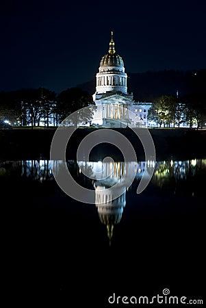 Capital of West Virginia in Charleston