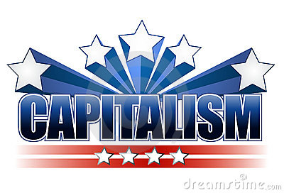 Capitalism sign
