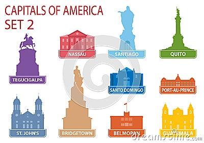 Capitals of America