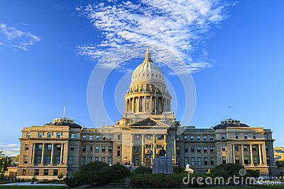 Capitol Building of Boise, Idaho Editorial Image