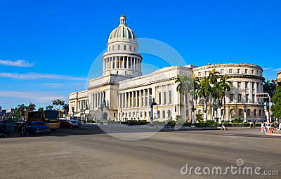 The Capitol building in Havana Editorial Image