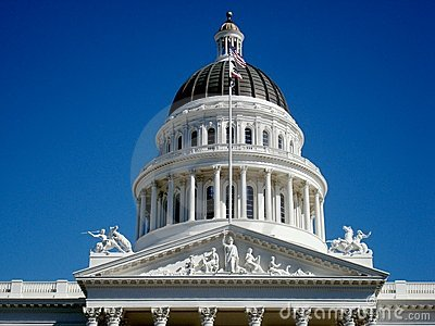 The Capitol of California Top