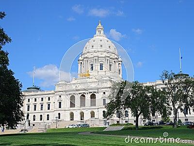 Capitol de rue Paul, Minnesota