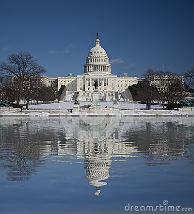 Capitol Hill with Reflection