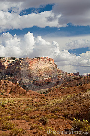 Capitol Reef NP Clouds