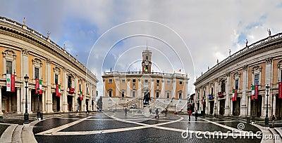 Capitol, Rome Editorial Photo