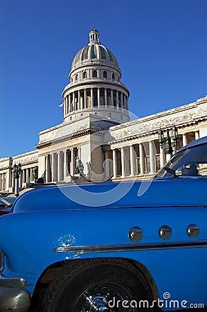 Capitolio view at havana, Cuba
