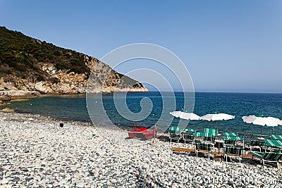 Capo Nord Beach At Marciana Marina