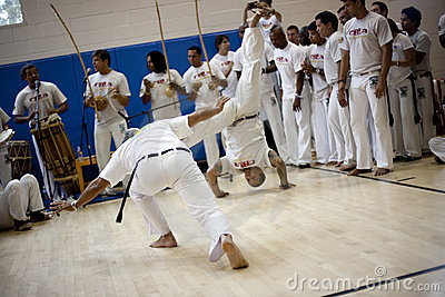 Capoeira Festival Editorial Image