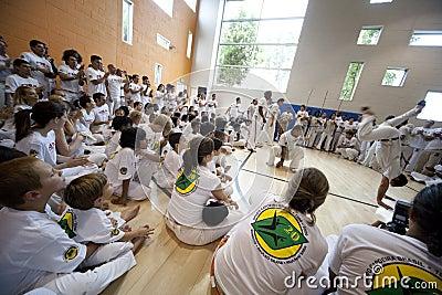 Capoeira Festival Editorial Photo