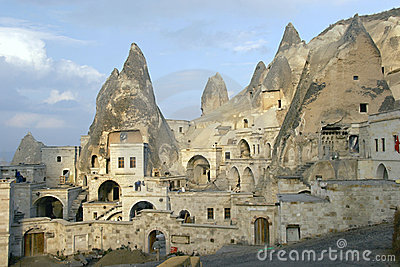 πόλη σπηλιών cappadocia