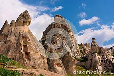 Cappadocia. Ancient cave city