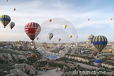 Cappadocia balloons Editorial Image