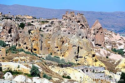 Cappadocia. Cave city