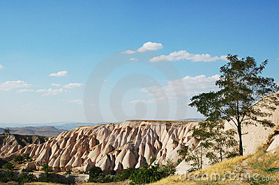 Cappadocia cliffs - astonishing natural landscape