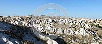 Cappadocia Panorama Banner, Travel Turkey