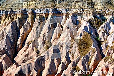 Cappadocia. Result of erosion