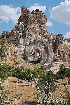 Cappadocia rock formations, Turkey