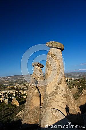 Free Cappadocia - Turkey, Fairy Chimneys Stock Photography - 14034302