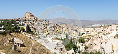 Cappadocia, Turkey Panorama Panoramic Banner