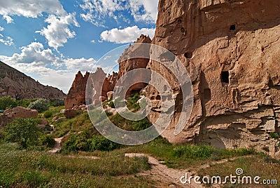 Cappadocia, zelve valley