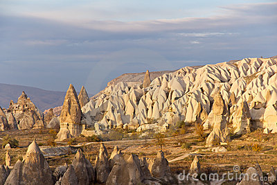 Cappadocian Valley in Central Anatolia, Turkey