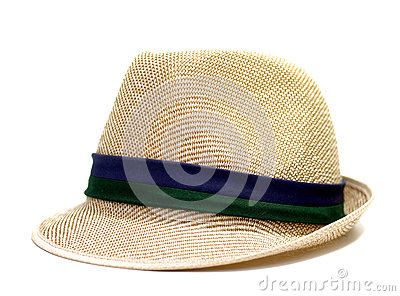 Cappello del tessuto isolato