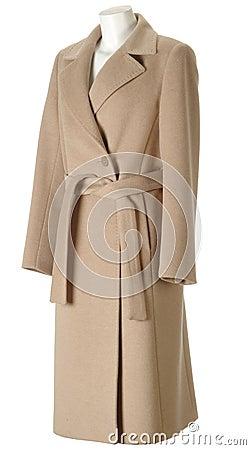 Cappotto della donna