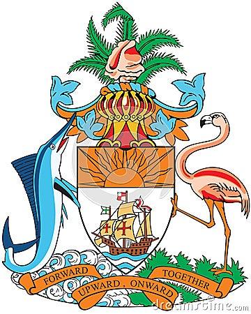 Cappotto delle braccia delle Bahamas