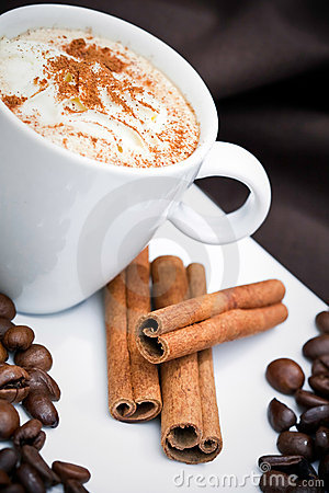 Free Cappuccino And Cookies Stock Photo - 16273940
