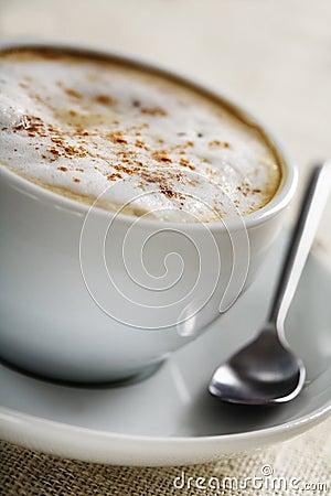 Cappuccino closeup