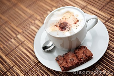 Cappuccino with a Cookie