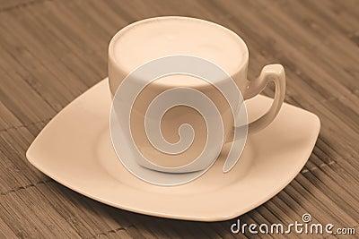 Cappuccino sepia