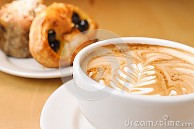 Cappucino and Pastries